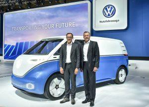 volkswagen dostawczy elektryczny Hannover