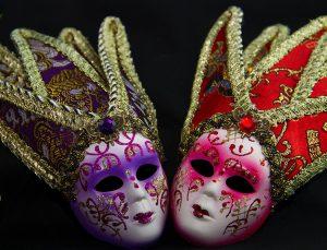 dowcipy humor karnawał ciekawostki wenecki maski karnawałowe Rio de Janeiro