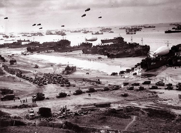 krótkie ciekawostki historyczne II wojna światowa Normandia