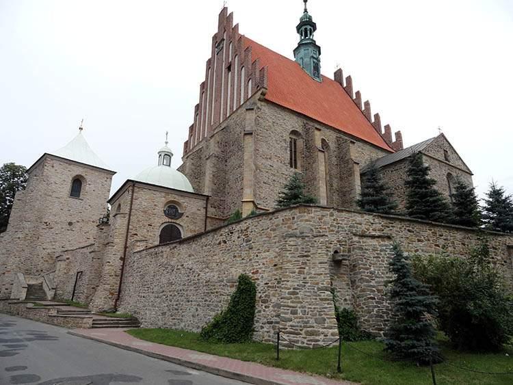 Szydłowiec kościół farny