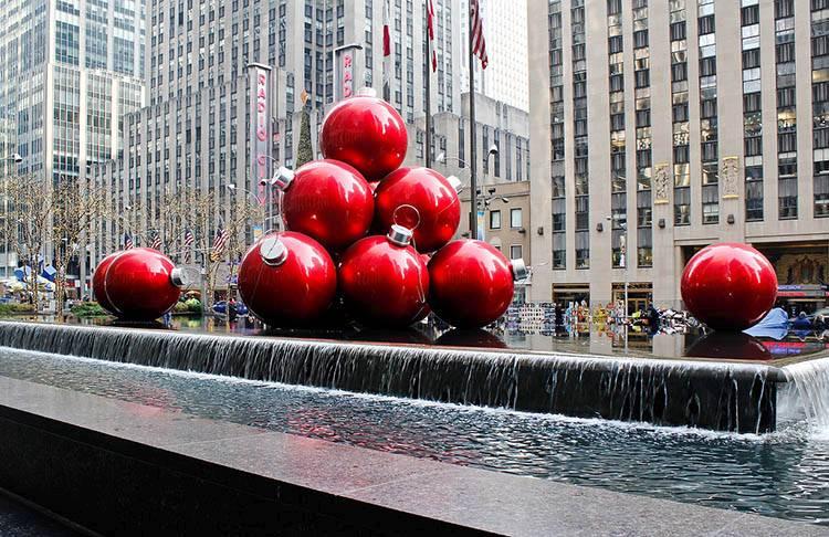 bombki choinkowe ciekawostki ozdoby Boże Narodzenie choinka Nowy Jork Rockefeller Center