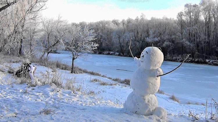 śniegowy bałwan ciekawostki o bałwanach bałwany