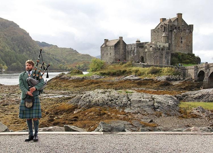 Szkocja ciekawostki o Szkocji Szkoci dudy