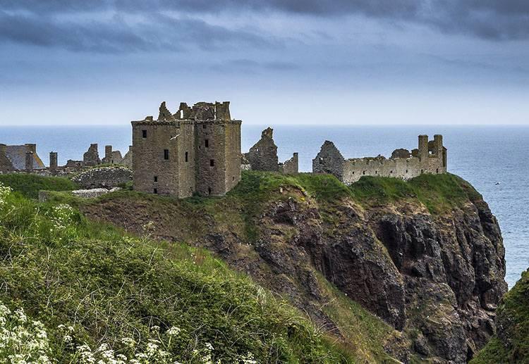 Szkocja ciekawostki o Szkocji Szkoci Dunottar