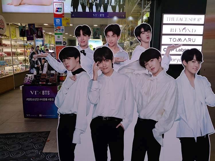 gwiazdy K-pop Korea piosenki muzyka