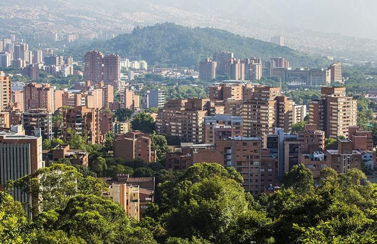 Kolumbia ciekawostki o Kolumbii Medelin