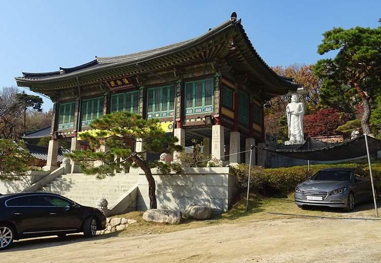 świątynia Bongeunsa temple budda Gangnam Seul Korea Południowa buddyzm