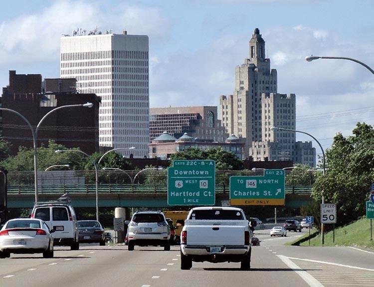 Bank pof America Providence ciekawostki atrakcje Rhode Island