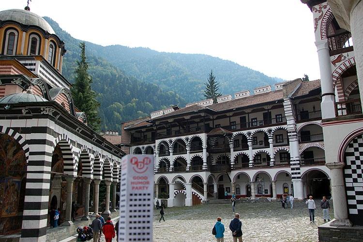ciekawostki Bułgaria atrakcje gdzie jechać Riła monastyr