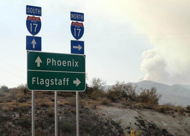 Flagstaff Arizona AZ ciekawostki podróże