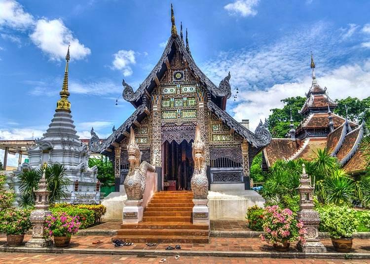 Tajlandia ciekawostki o Tajlandii świątynia Chiang Mai