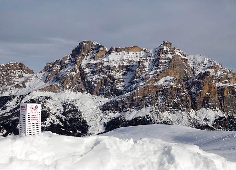Dolomity Pralongiá 2140 Włochy ciekawe miejsca ciekawostki atrakcje podróże