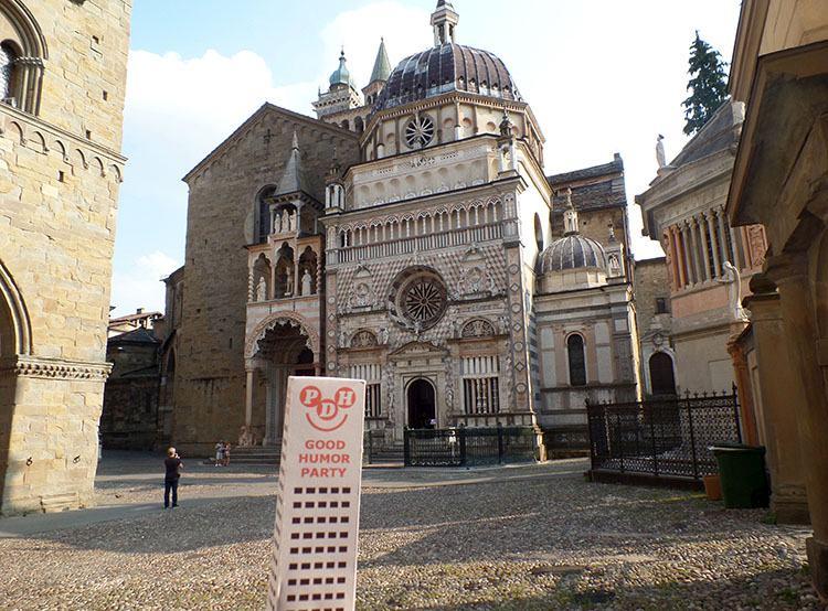Bergamo Cappella Colleoni Włochy ciekawe miejsca podróże