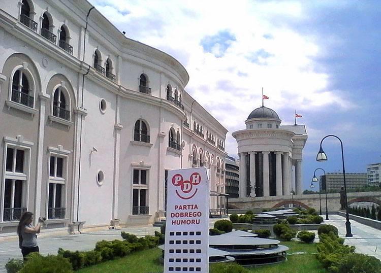 Skopje Macedonia ciekawostki o Macedonii Teatr Muzeum Archeologiczne