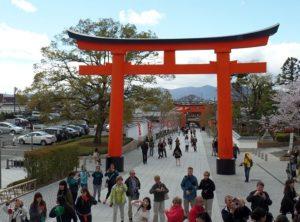 brama torii ciekawostki Japonia Fuji Inari Kioto