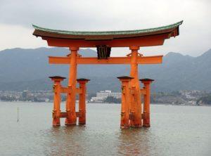 brama torii ciekawostki Japonia Miyajima