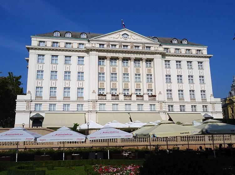 Esplanade hotel Chorwacja Zagrzeb ciekawostki atrakcje turystyczne