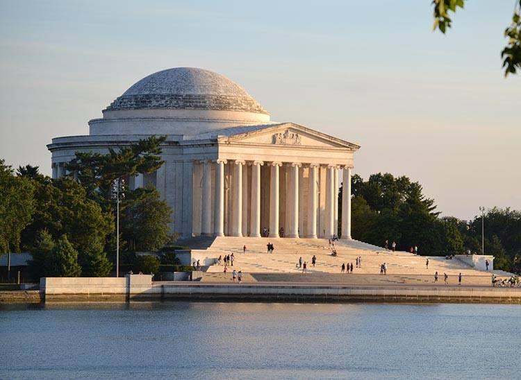 Jefferson memorial Waszyngton ciekawostki