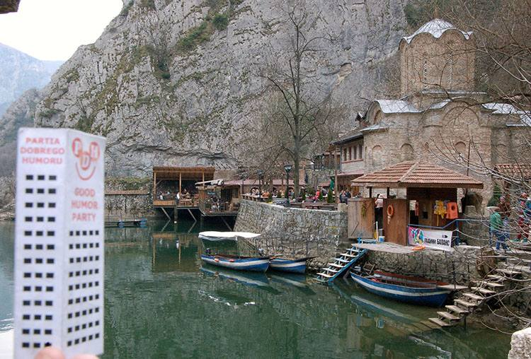 Kanion Matka Macedonia ciekawostki o Macedonii