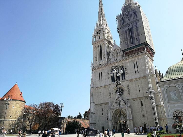 katedra Chorwacja Zagrzeb ciekawostki atrakcje turystyczne