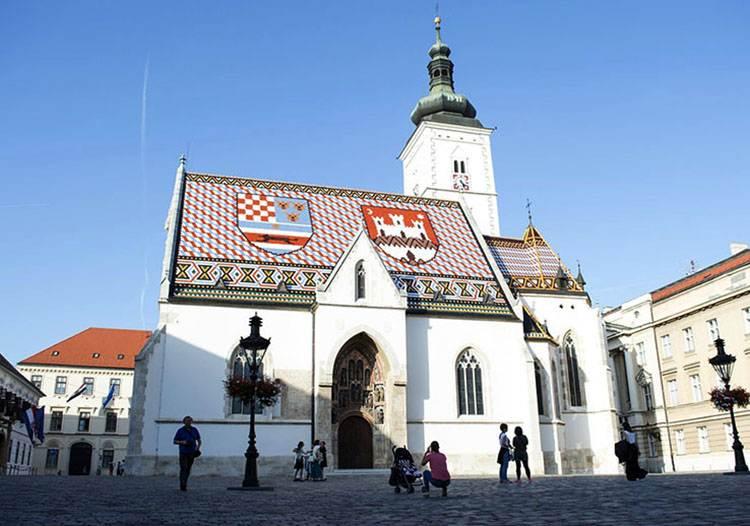 kościół plac św. Marka Chorwacja Zagrzeb ciekawostki atrakcje turystyczne