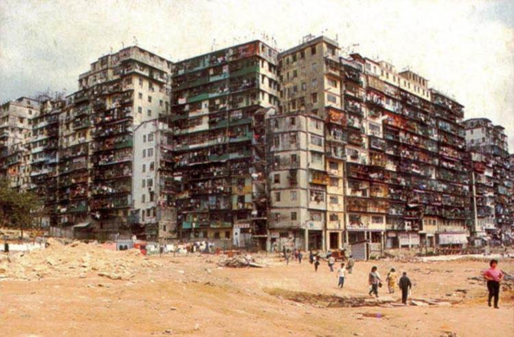 Kowloon Walled City Hong Kong Gotham City Batman Hongkong