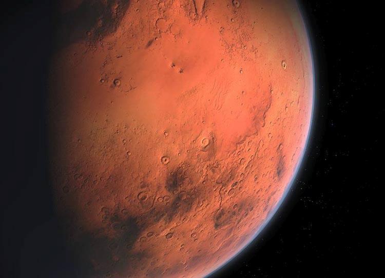 Mars planeta najważniejsze informacje ciekawostki o Marsie