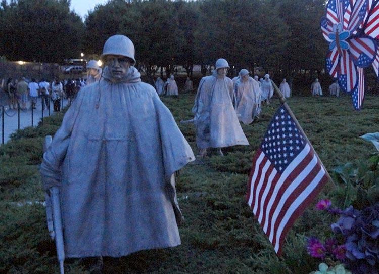 Pomnik Weteranów wojny w Korei Waszyngton ciekawostki