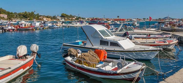 port wyspa Zakynthos atrakcje Grecja wczasy wakacje