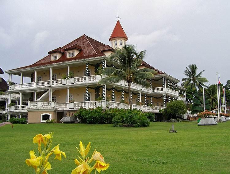 miasto Papeete Tahiti ciekawostki Polinezja francuska atrakcje wyspy Oceania