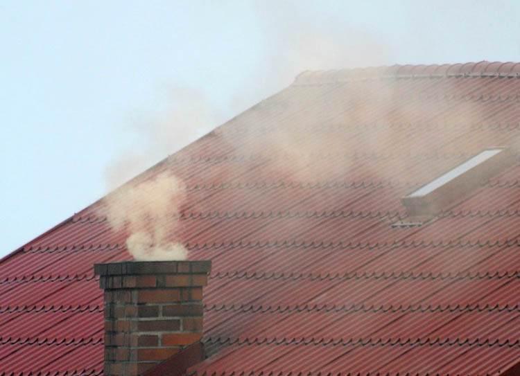smog Kazimierz Dolny dym