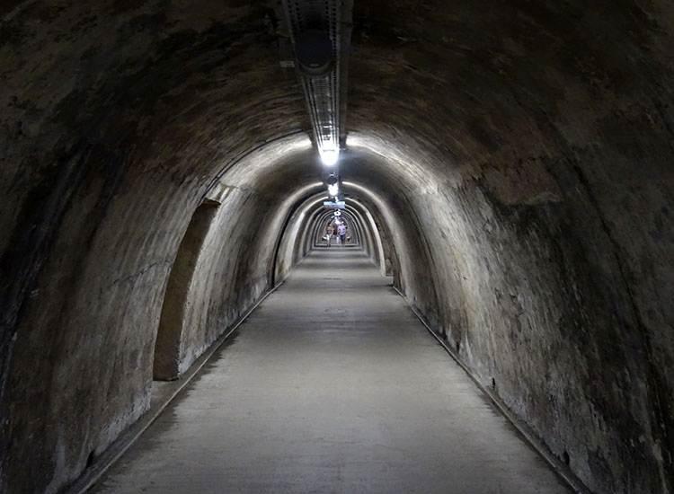 tunel Gric Chorwacja Zagrzeb ciekawostki atrakcje turystyczne