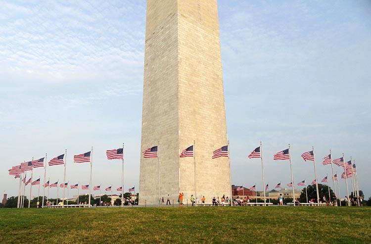 Waszyngton pomnik Waszyngtona