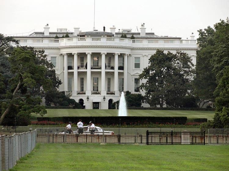 White House Biały Dom Waszyngton ciekawostki