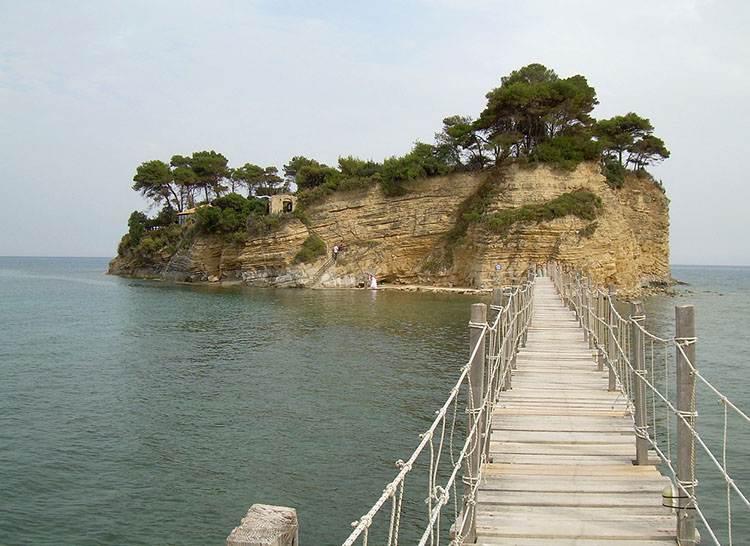 wyspa Zakynthos atrakcje Grecja wczasy wakacje