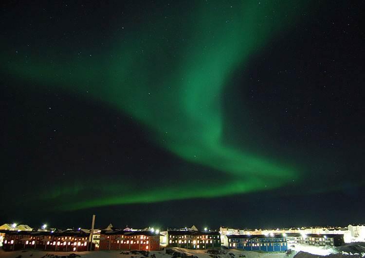 zorza polarna Grenlandia ciekawostki o Grenlandii
