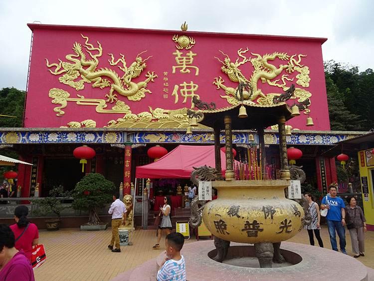 10 tysiecy buddów Hongkong atrakcje