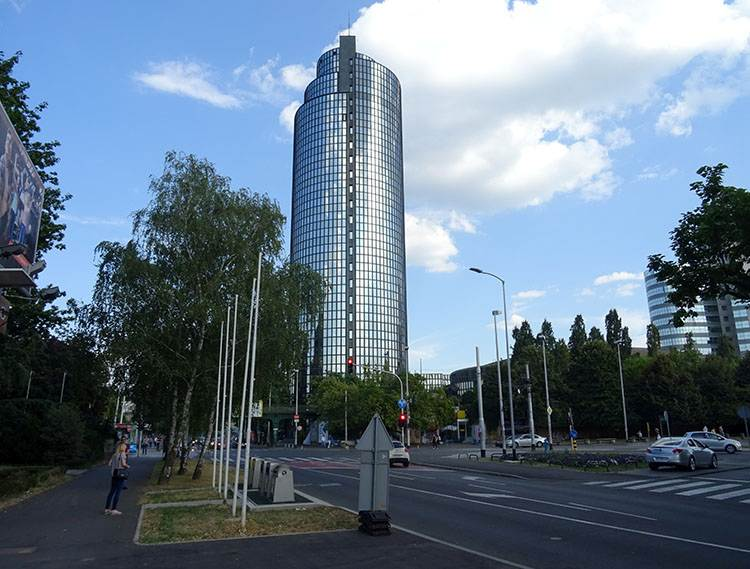 Cibona Tower Zagrzeb na weeked porady Chorwacja