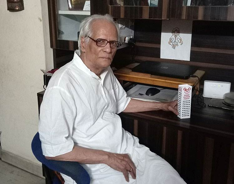 Harish Chandra Shukla Kaak rysownik Indie famous hindi cartoonist