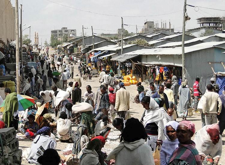 bazar targ Etiopia atrakcje ciekawostki