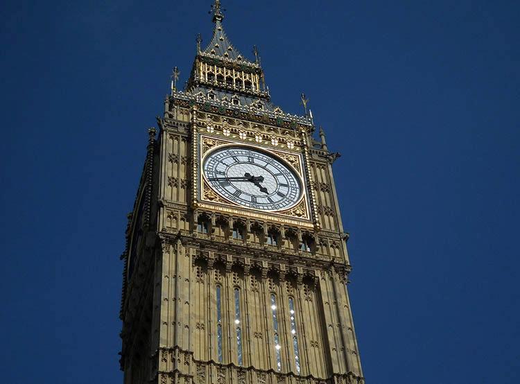 Big Ben Westminster Pałac Westminsterski ciekawostki o Londynie London Anglia