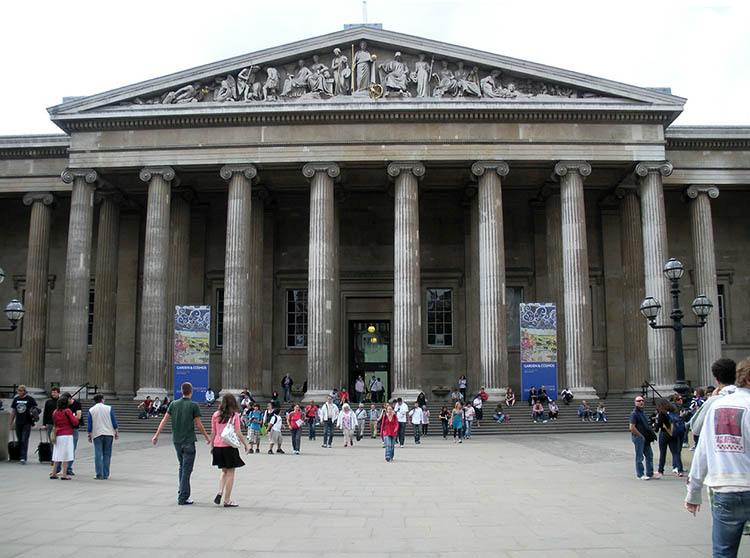 British Museum Londyn ciekawostki Anglia