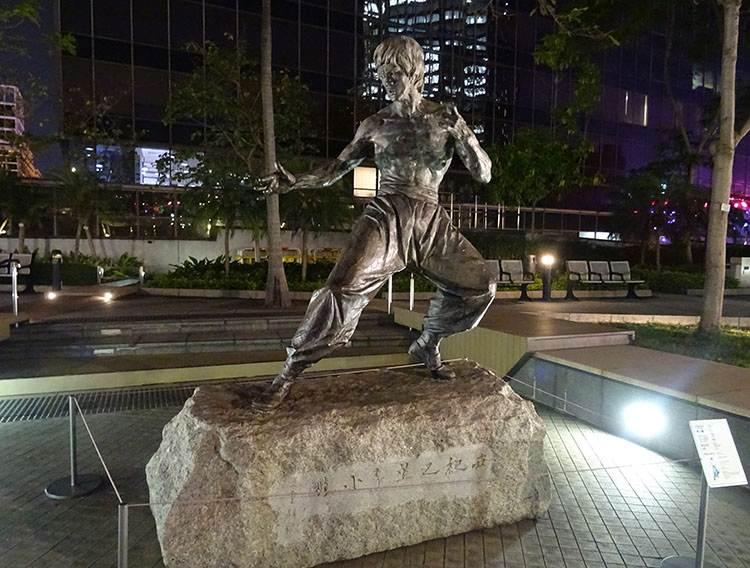 Bruce Lee Hongkong atrakcje