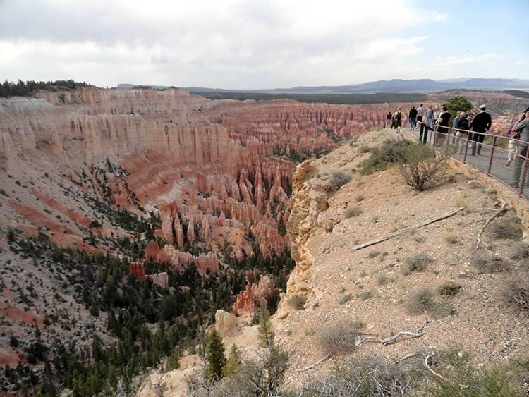 punkt widokowy Bryce Canyon ciekawostki Utah USA