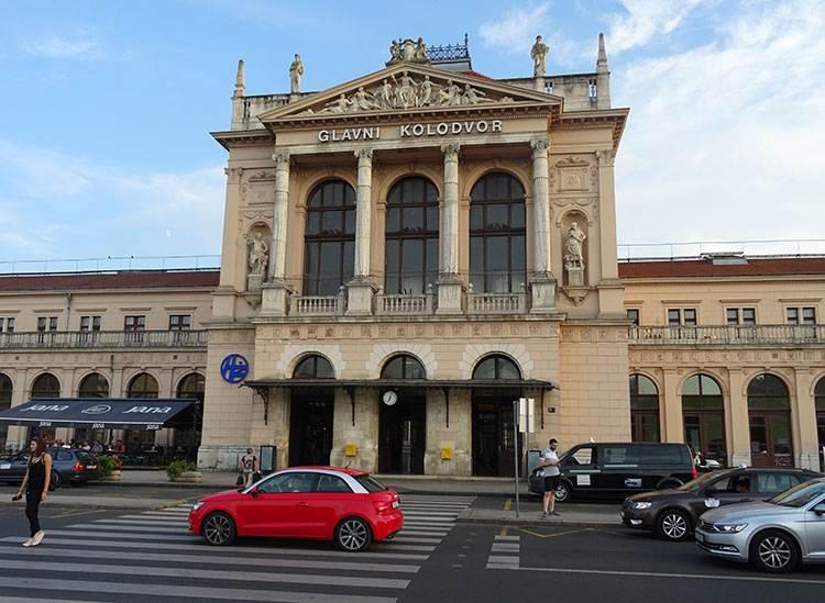 dworzec kolejowy Zagrzeb na weeked porady Chorwacja