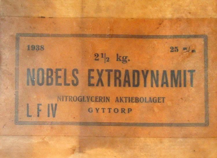 dynamit Alfred Nobel ciekawostki