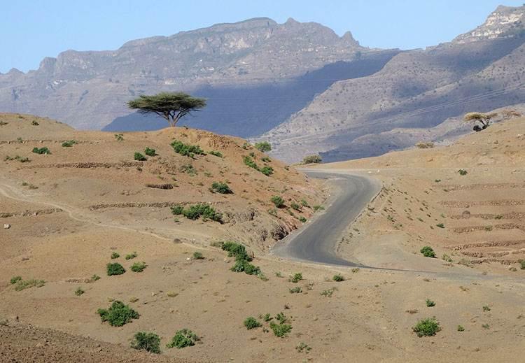 przyroda Etiopia ciekawostki o Etiopii atrakcje