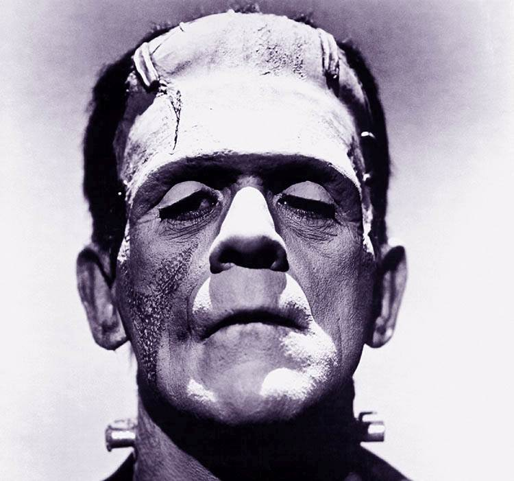 Boris Karloff aktor horror filmy Frankenstein ciekawostki o Frankensteinie Mary Shelley