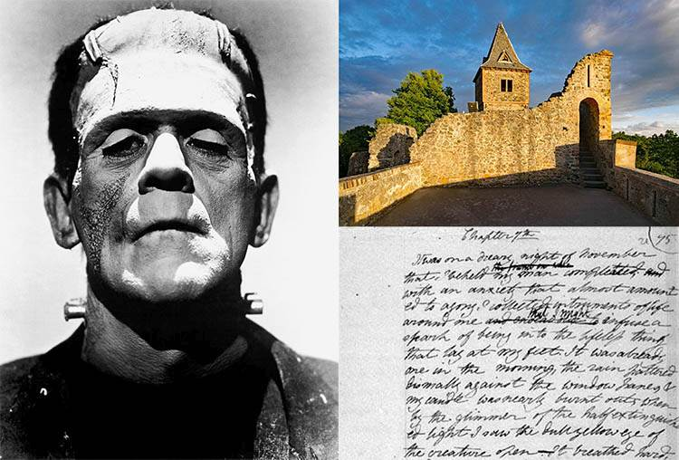 Frankenstein ciekawostki o Frankensteinie Mary Shelley