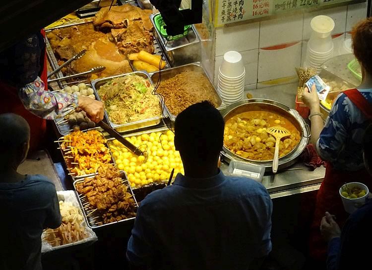 Hongkong kuchnia jedzenie